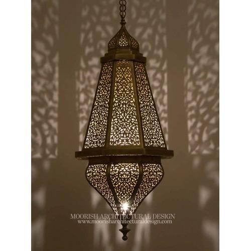 Modern Moroccan Lantern 14