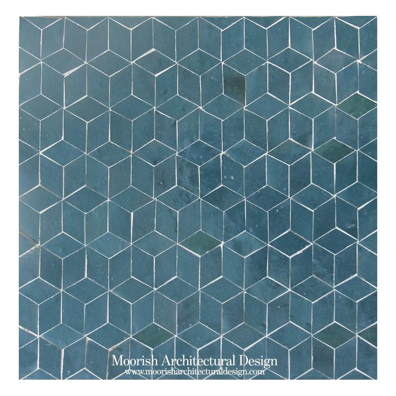 Moorish bathroom Tile shower ideas