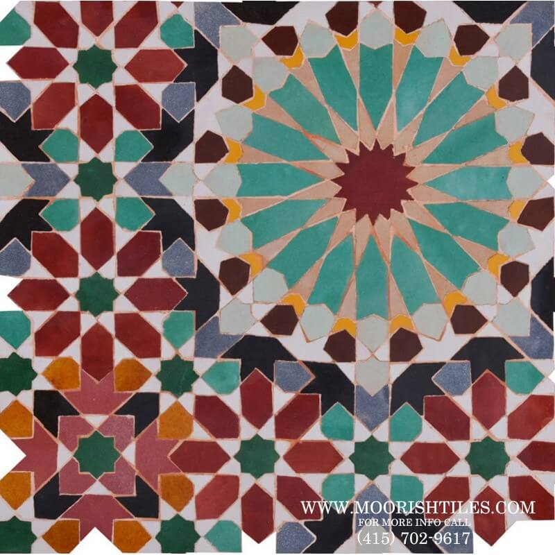 Moroccan Tile Oyster Bay Cove New York