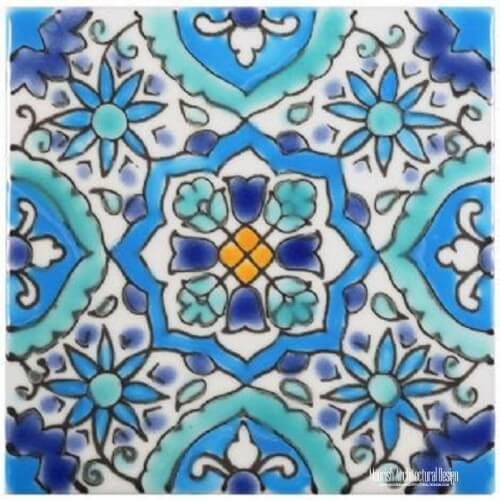 Mediterranean Pool Tiles Los Angeles California