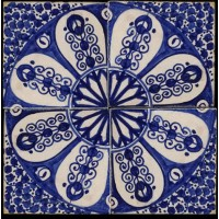 Blue Moroccan Tile San Francisco California