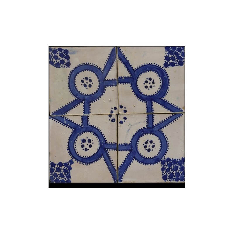 Blue Moroccan Tile San Diego
