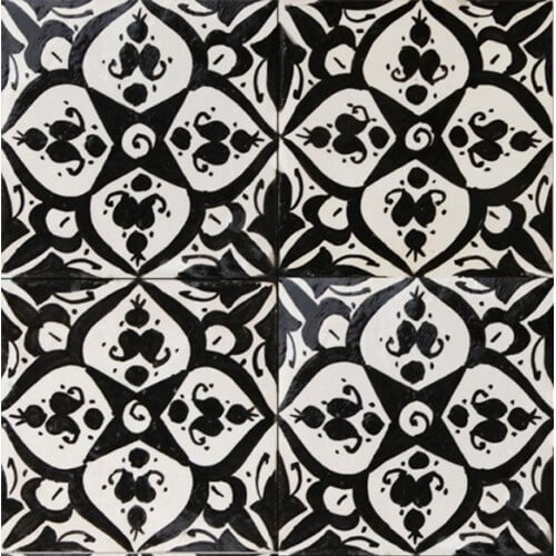 Moroccan Hand Painted Tile 05