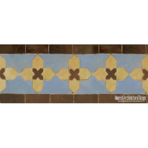 Moroccan Border Tile 08