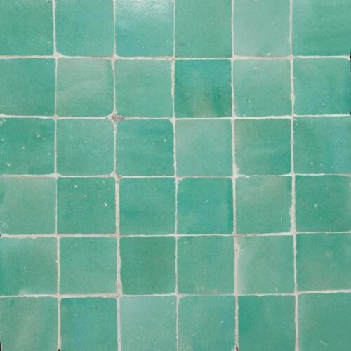 Glazed Green Tiles Tile Design Ideas