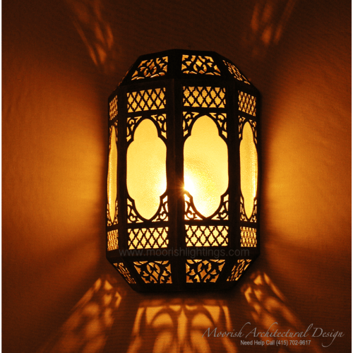 Traditional Moroccan Sconce 05