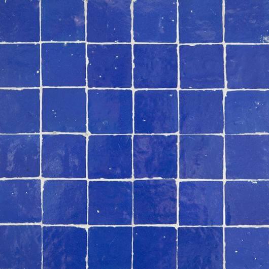 Blue Moroccan Tile Cobalt Zellige