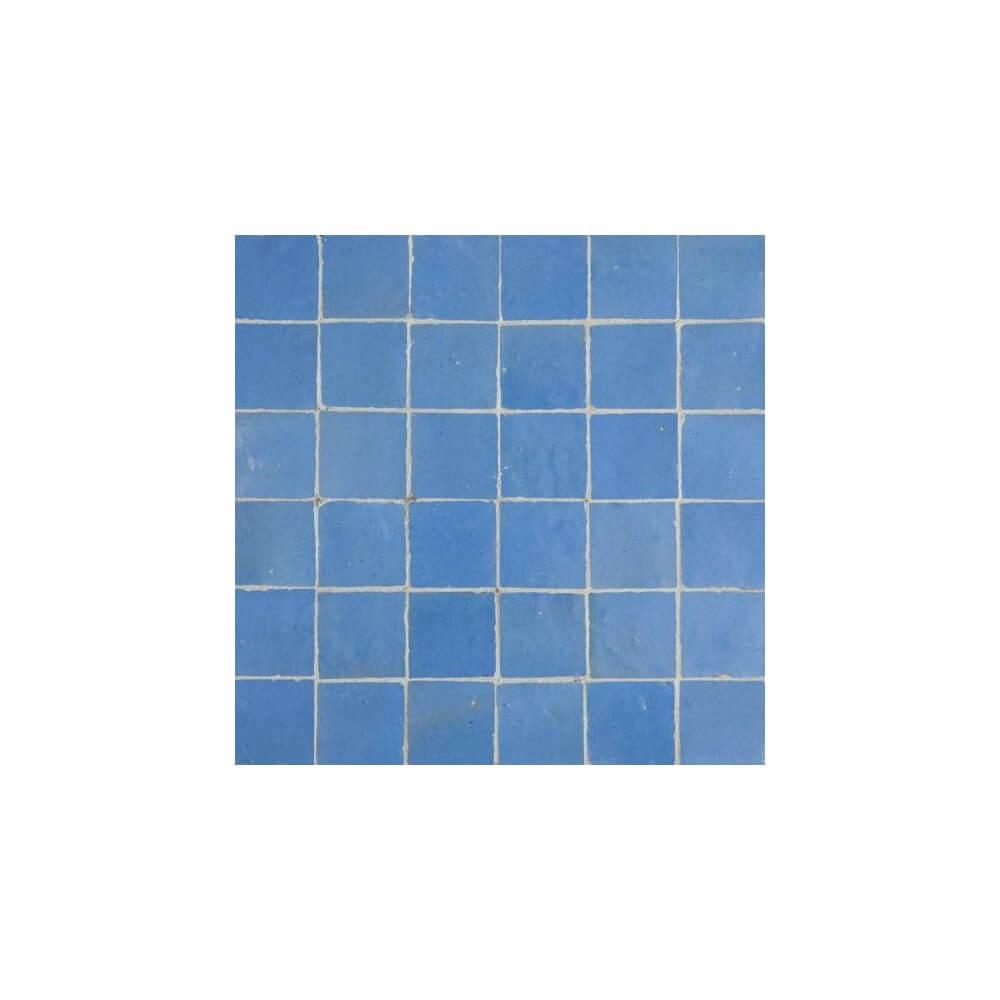 Blue Moorish Tile - Blue Zellige - Blue Moroccan Tiles