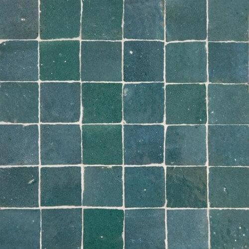 Teal Blue Tile