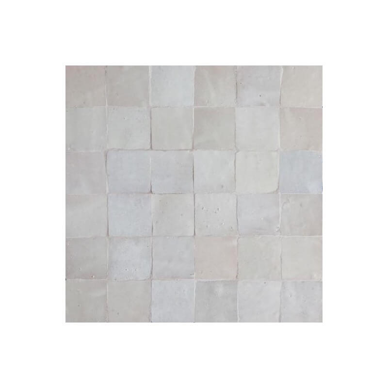 White Moroccan Tile