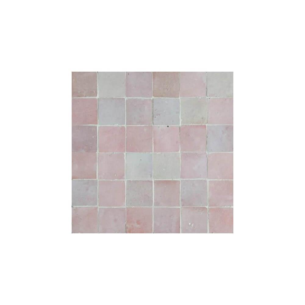 Pink Moroccan Tile Pink Zellige