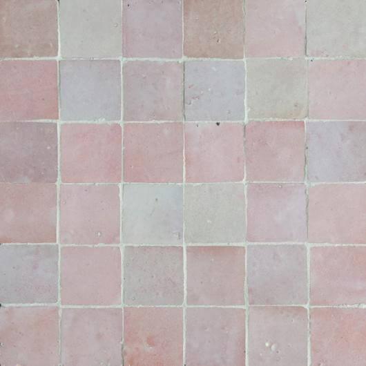 Pink Moroccan Tile