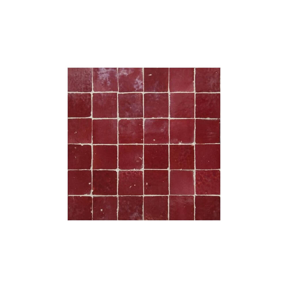 Red Moroccan Tile Los Angeles Shop Red Zellige Tiles