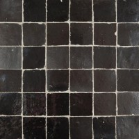 Black Moroccan Tile