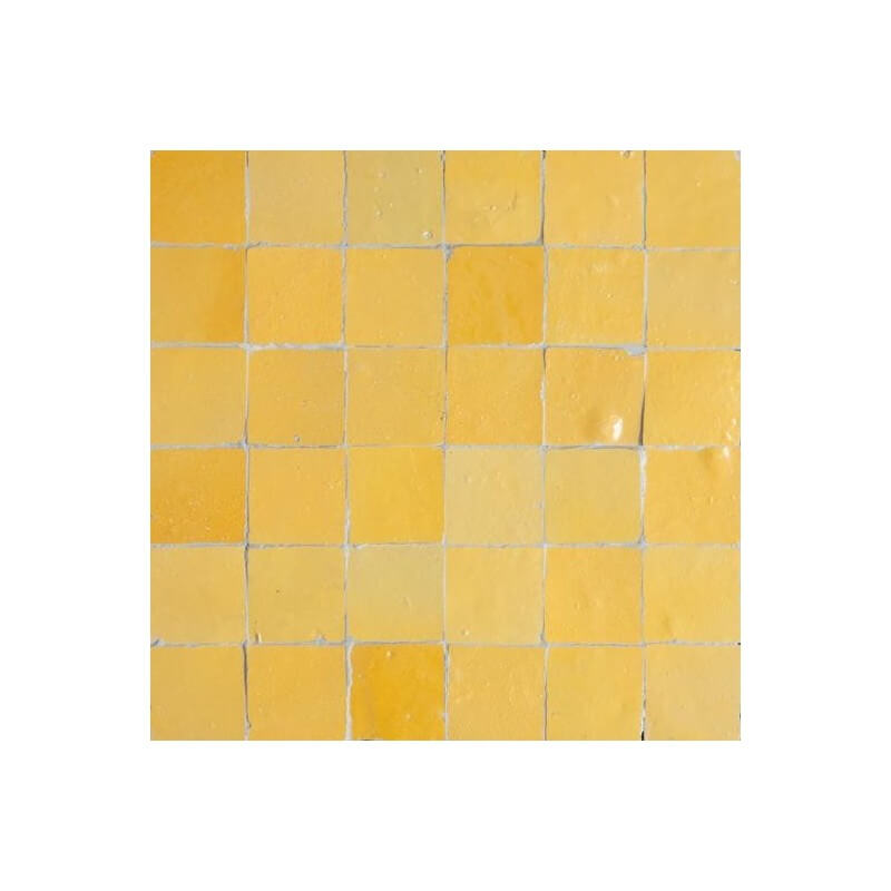 Yellow Moroccan Tile