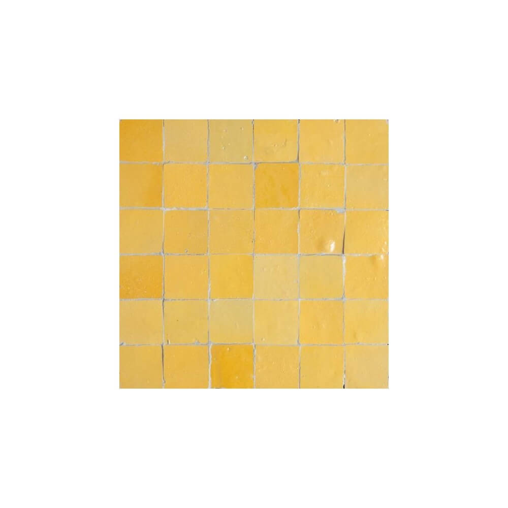 Yellow Moroccan Tile Yellow Zellige Tiles