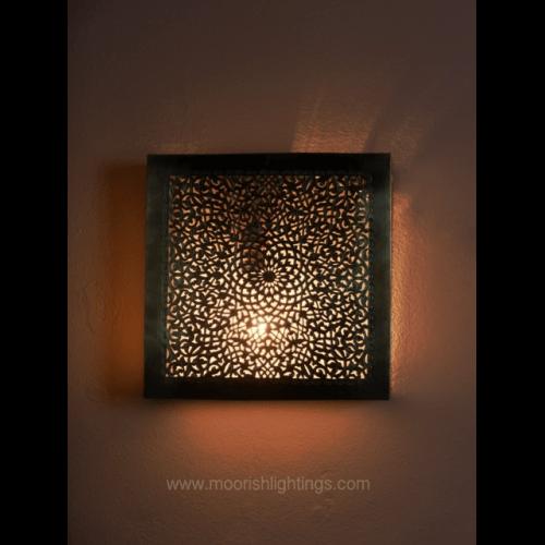 Modern wall sconces moroccan filigree wall lamps moroccan sconce dubai uae aloadofball Images