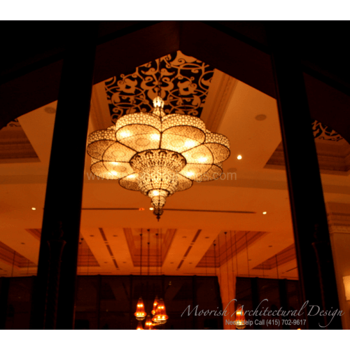 Traditional Moroccan Chandelier 03