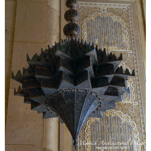 Traditional Moroccan Chandelier 04