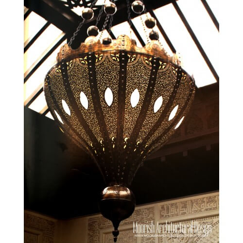 Traditional Moroccan Chandelier 05
