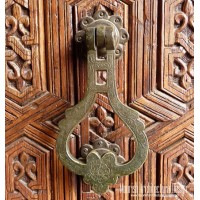 Antique brass door knockers
