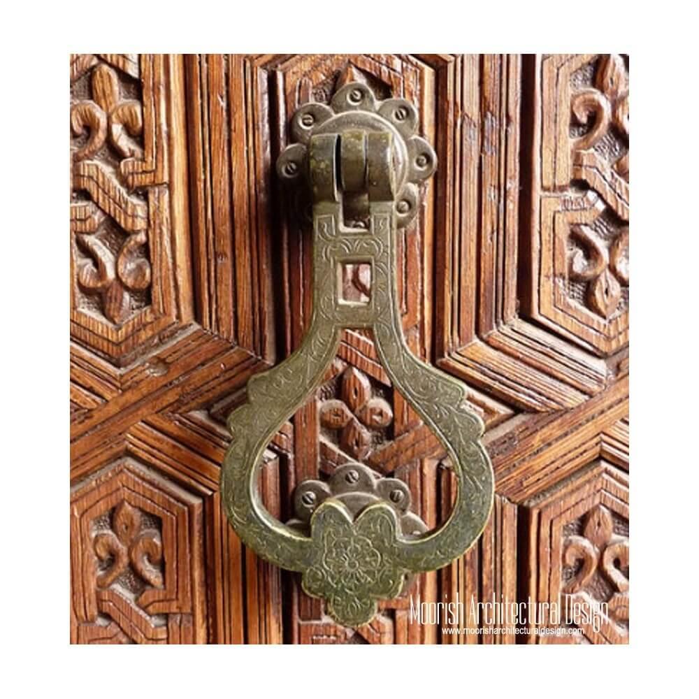 Antique brass door knockers  sc 1 st  Moorish Architectural Design & Antique brass door knockers   Solid Brass door knocker