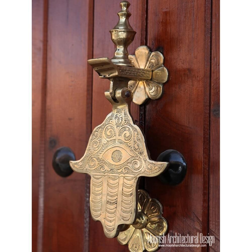 Custom hand door knocker for Custom made door knockers