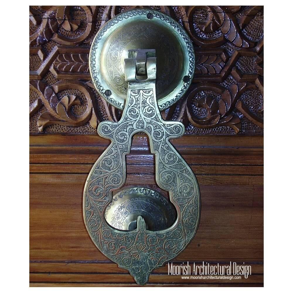 Moroccan door knocker hand of fatima moroccan door knocker for Custom made door knockers