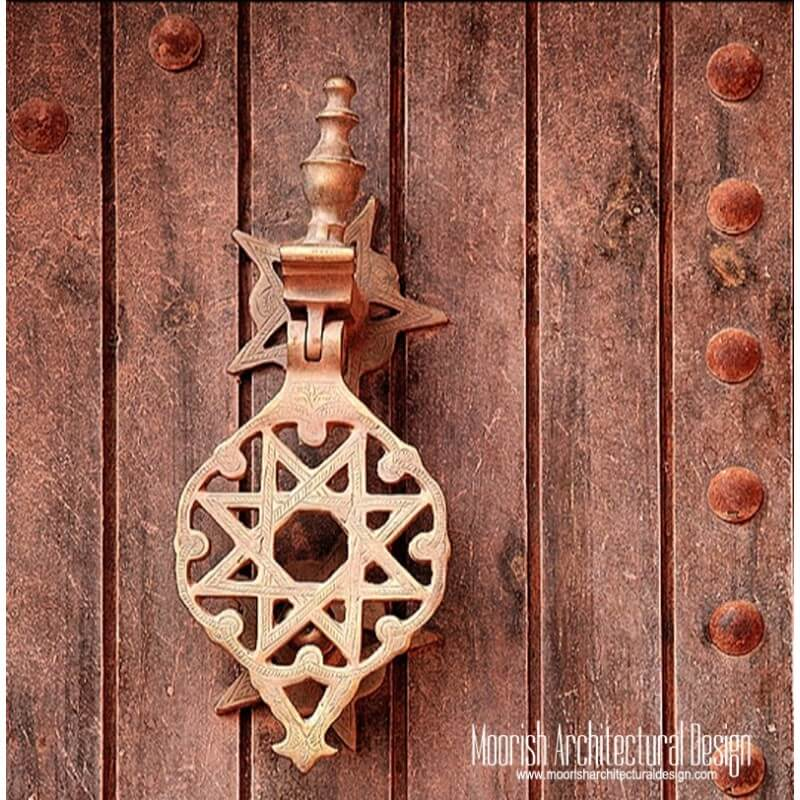 Middle eastern door knocker