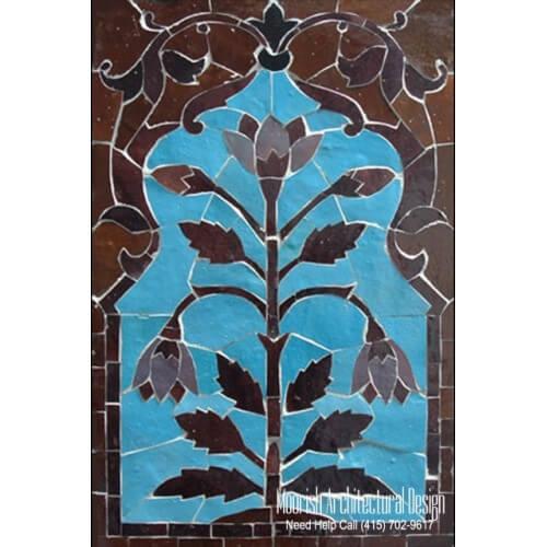 Moroccan Tile Mural 02