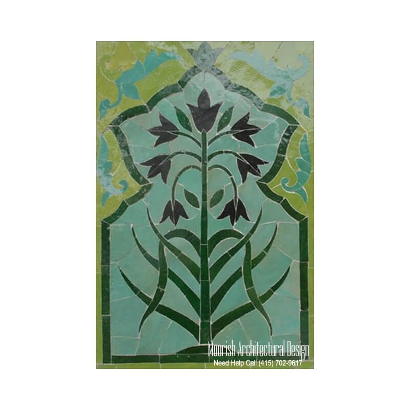 Moroccan Ceramic tile murals