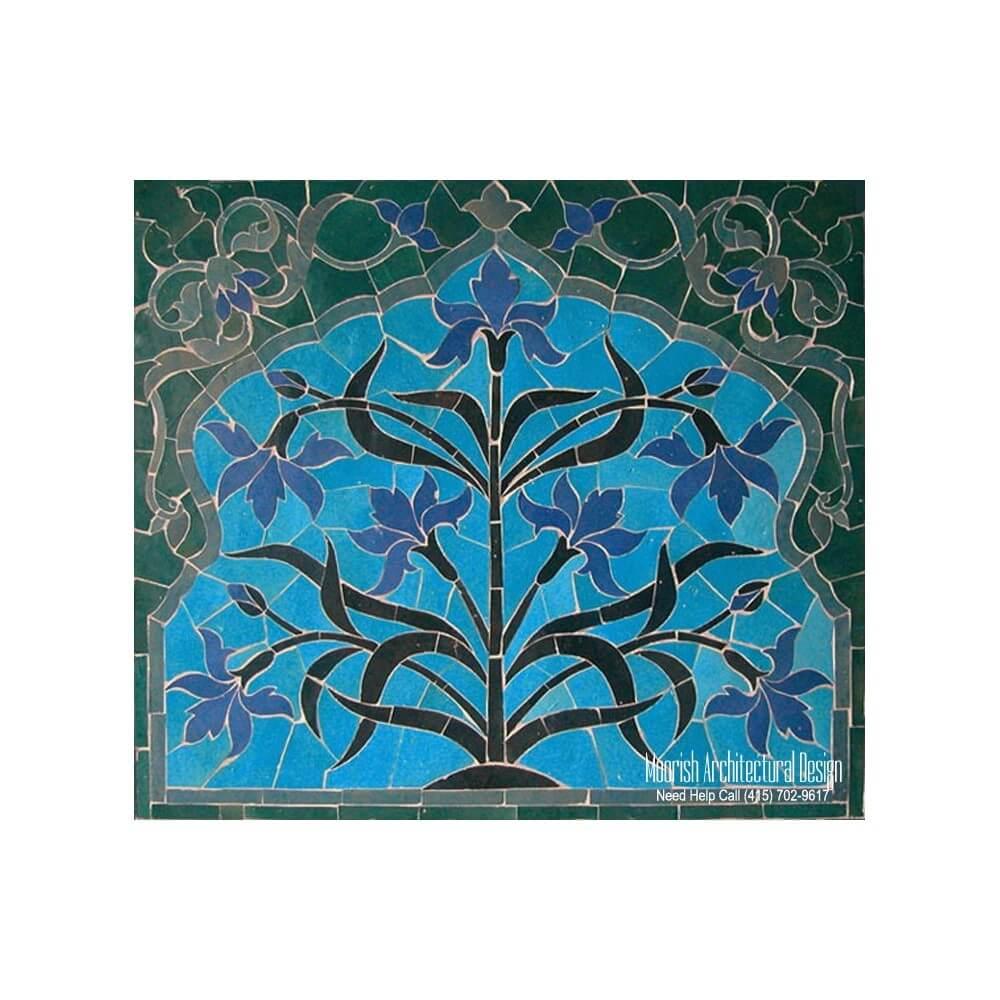 Kitchen backsplash murals | Moroccan Kitchen tiles