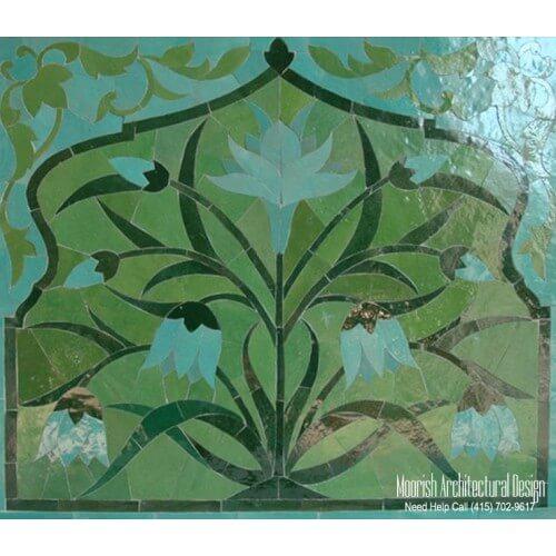 Moroccan Tile Mural 08
