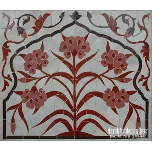 Moroccan Tile Mural 09