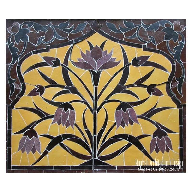 Kitchen tile mural design ideas