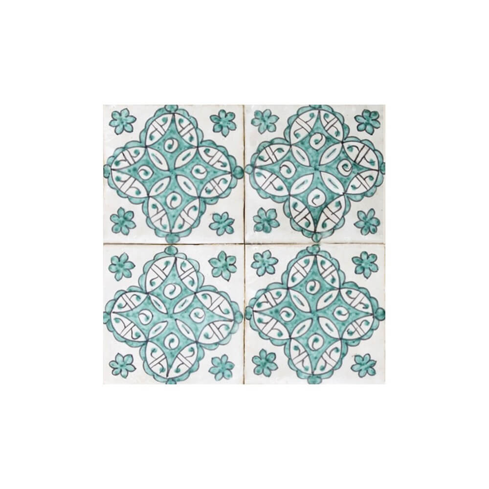 Mediterranean Pool Tiles Los Angeles |Moorish Tile | Spanish Pool Tile