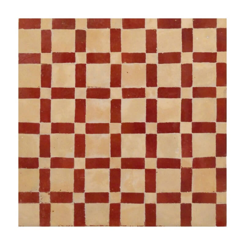 Red Moroccan Tiles