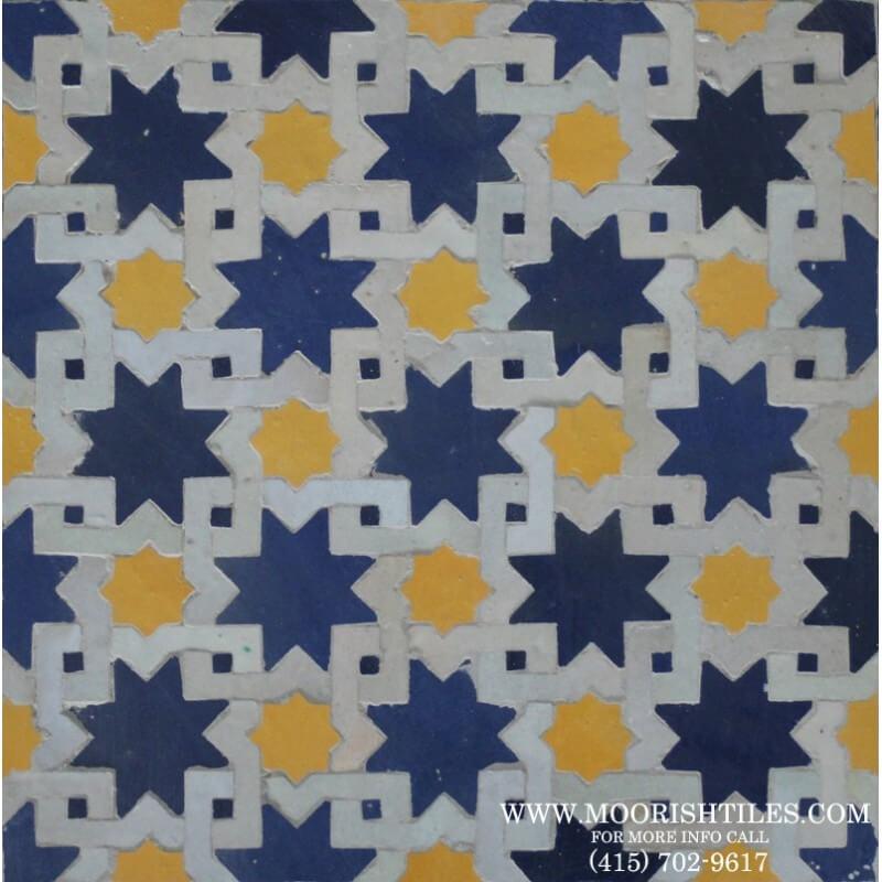 Moroccan floor tiles