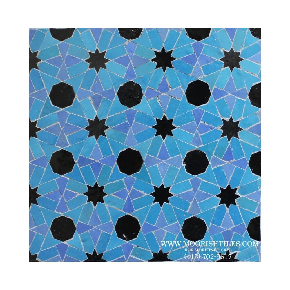 Moroccan Mosaic Tile Moorish Tile Design