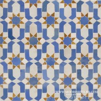 Moroccan bathroom tile
