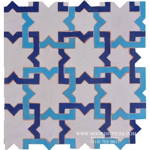 Kitchen Tiles | Moroccan Tile | Zellige