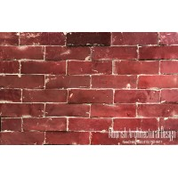 Red Moroccan Subway Tiles