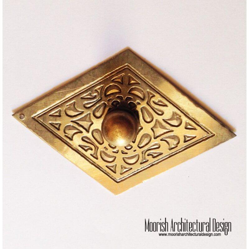 Brass Moroccan knob