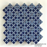 Moroccan fountain tile
