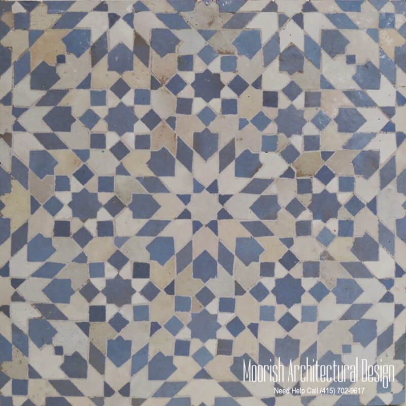 Moroccan Tile Fountain Moroccan Mosaic Tiles Moorish