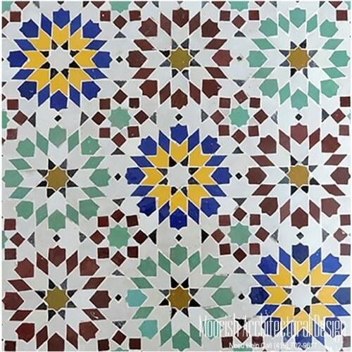 Moroccan Tile 123