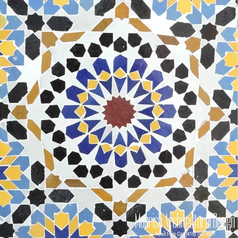 Moroccan Tile Dubai Islamic Tiles Uae Morocco Tiles