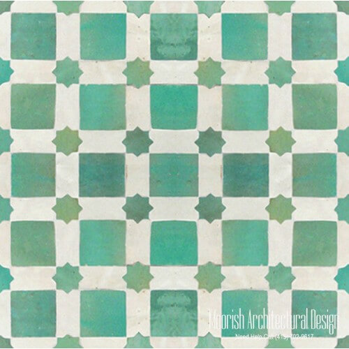 Moroccan Tile 135