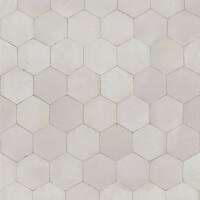 White Moroccan Tile Dallas Texas