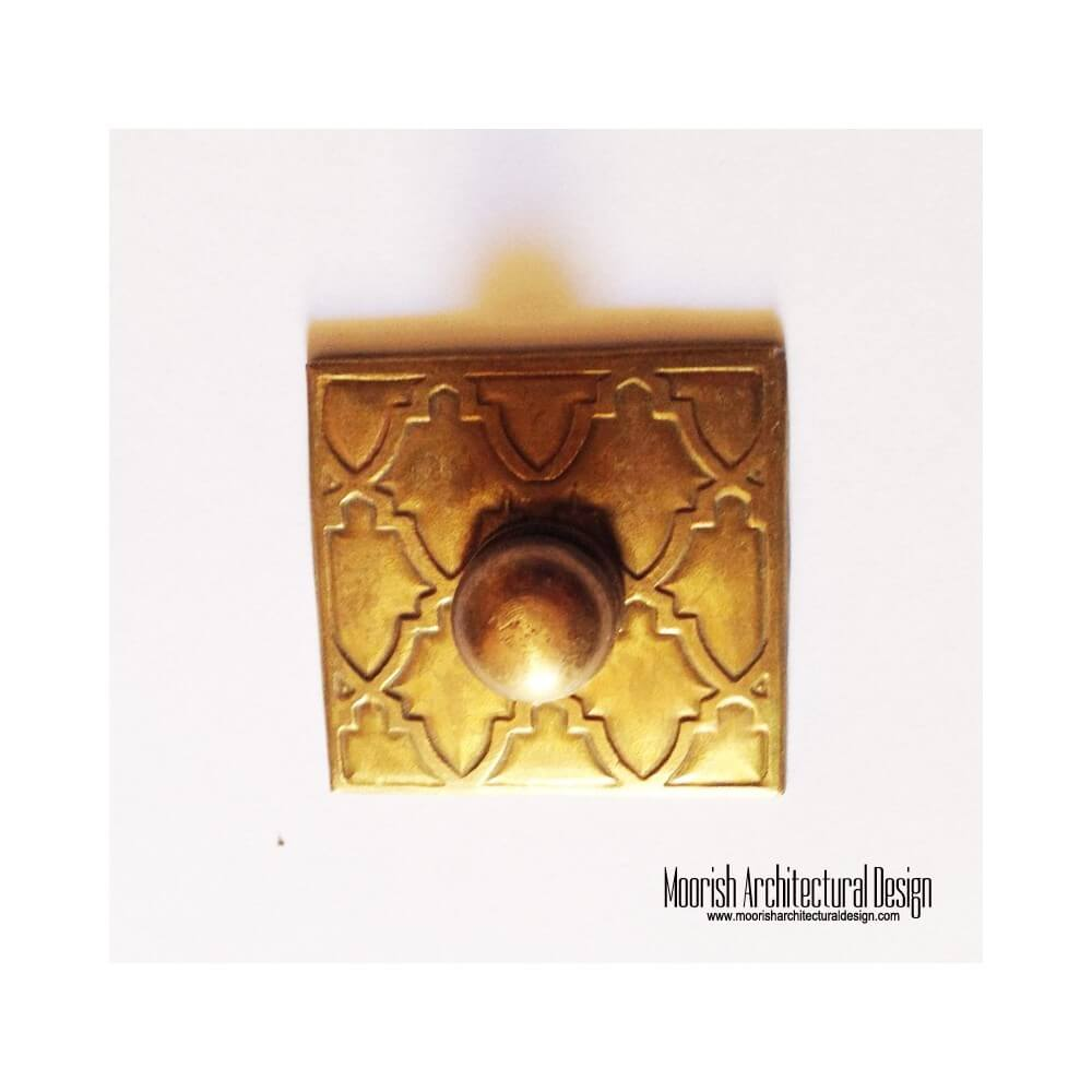 Moroccan kitchen cabinet hardware for Wooden cabinet knobs